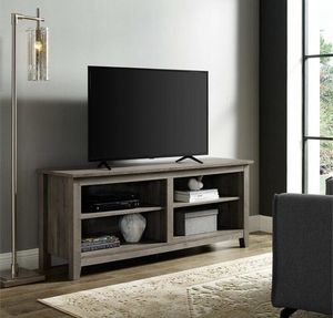 """Grey wash Tv stand up to 65"""" - New for Sale in Taylor, MI"""