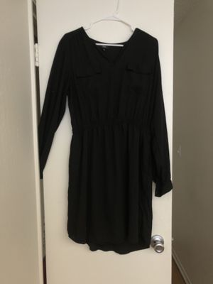 Black dress size xl silk for Sale in Fremont, CA