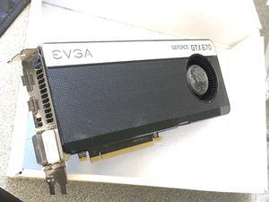 GeForce GTX 670 graphics card NEW for Sale in Santa Barbara, CA