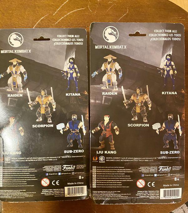 Funko Mortal Kombat X Collectible Action Figures