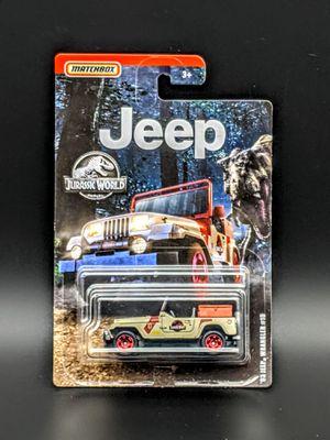 Matchbox Jurassic World 93 Jeep for Sale in San Jose, CA