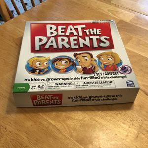 Beat The Parents Game for Sale in New Bedford, MA