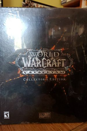 Sealed! World of Warcraft: Cataclysm Collectors Edition for Sale in San Mateo, CA