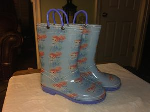 NEW GIRLS MERMAID RAIN BOOTS SIZES Y13 Y1 available in Inglewood 90301 for Sale in Inglewood, CA