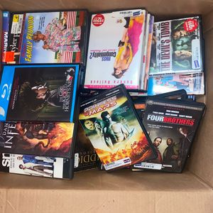 Box Of Movies - Each Movie $5 for Sale in York, PA