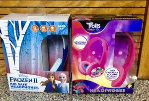 Frozen II & Trolls headphones. $ 12 EACH for Sale in Los Nietos, CA