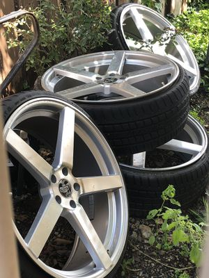 22 Inch Rims and Tires for Sale in Spring Valley, CA