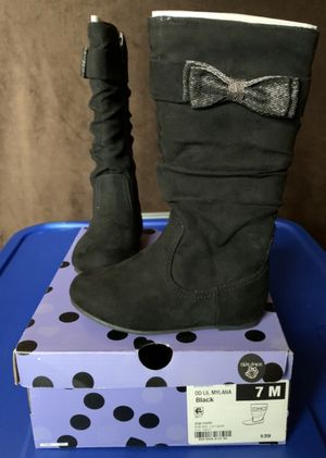 Brand New Toddler Girl Boots (Size 7) for Sale in Manteca, CA