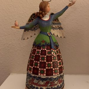 Jim Shore Christmas angel, Approximately 12 inches tall for Sale in Rancho Santa Margarita, CA