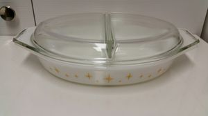 Pyrex Constellation Casserole Two- Part Dish w/ Lid for Sale in San Antonio, TX