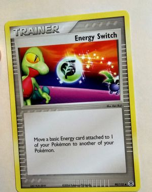 Pokemon energy switch trainer 90 112 for Sale in Fenton, MO