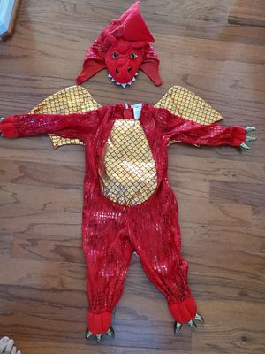 Pottery Barn Dragon Costume 12-24 months for Sale in Virginia Beach, VA