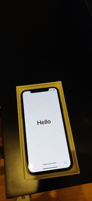 Unlocked iPhone X - Space Grey - 64GB for Sale in Oakland, CA