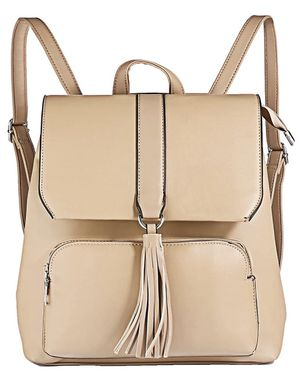 Leather Backpack Purse for Women Casual Shoulder Bag with Tassels for Sale in Goodyear, AZ