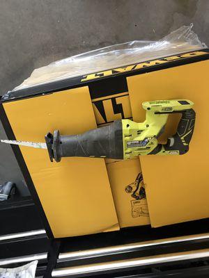 Ryobi reciprocating saw w blade (tool only) model P516 for Sale in Scottsdale, AZ