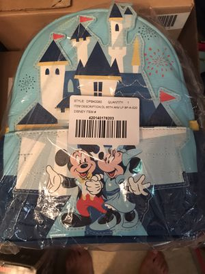 Disney 65th Anniversary Limited Edition Loungefly Back Pack Sold Out for Sale in Oregon City, OR