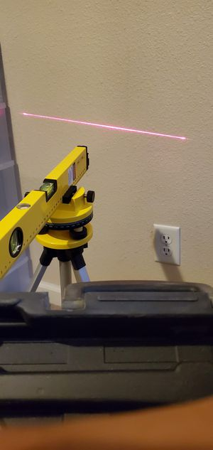 laser leveling tool for Sale in Fresno, CA
