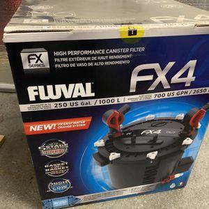 Fluval FX4 Aquarium Canister Filter for Sale in Riverside, CA