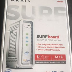 Arric Cable Modem Surfboard Docsis 3.0 brand new for Sale in Miami, FL
