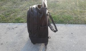 Reaction; Kenneth Cole Black on Black Rolling Backpack for Sale in Los Angeles, CA