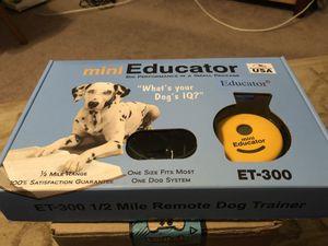 Dog collar trainer for Sale in Waynesboro, VA