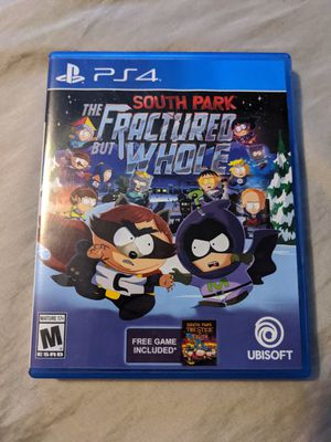 South Park The Fractured but Whole - Playstation 4 (PS4) - Very Good Video Game for Sale in Elko New Market, MN