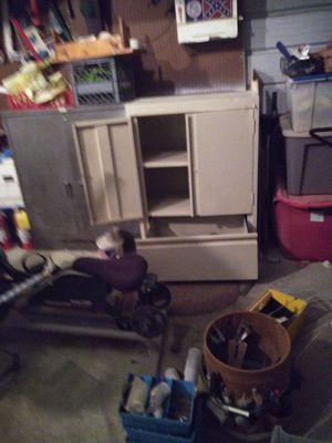 Sandusky storage cabinet for Sale in New Bern, NC