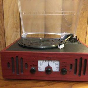 Audio trio LP music center. for Sale in Massillon, OH
