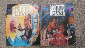 Rare Vintage 1990 Brother Man Comics #6 & #7 $20.00 Each for Sale in Burlington, NC