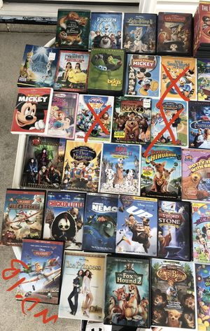 ALL DISNEY DVD MOVIES- Air Buddies, Snow Buddies, Space Buddies, Treasure Buddies, Air Bud, Princess Stories, Bambi II, Tinkerbell, Hannah Montana etc for Sale in Emmaus, PA