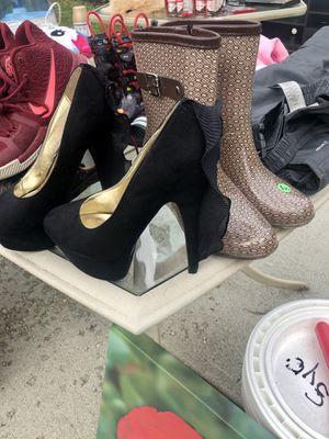 Rain Boots & Stilettos for Sale in Cincinnati, OH