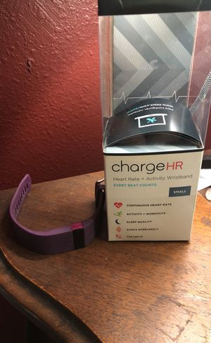 Fitbit charge HR for Sale in Tempe, AZ