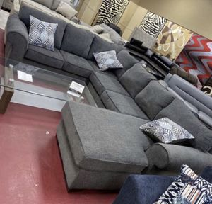I Furniture sectional El Rio furniture finance available down payment $39 1456 belt line rd suite 121 Garland tx 75044 Open from 9:30-8:30 for Sale in Garland, TX