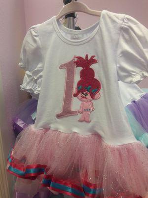 Troll Poppy Tutu Birthday Dresses. New for Sale in North Las Vegas, NV
