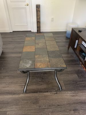 Stone coffee table for Sale in Delray Beach, FL