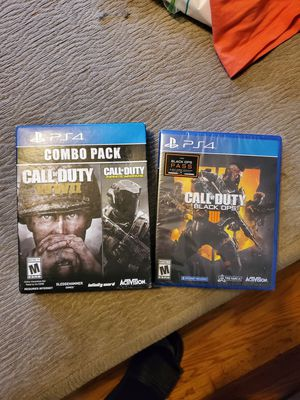 Ps4 both new never opened for Sale in Roanoke, VA