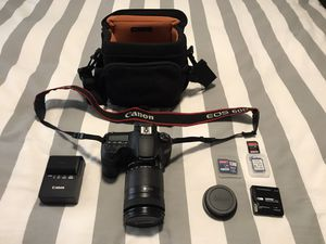 Canon EOS 60D DSLR Camera for Sale in Los Angeles, CA