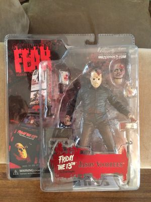 Horror Figures (Jason, Freddy, Leatherface, Chop Top) - Brand New for Sale in Whitman, MA