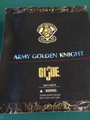 GI JOE ARMY GOLDEN KNIGHT for Sale in Dallas, TX