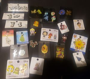 Disney pin lot brand new for Sale in Arlington, TX