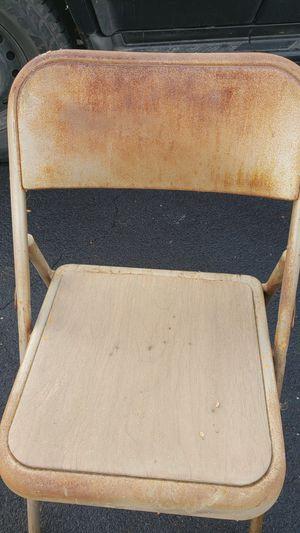Vintage samsonite metal chairs for Sale in Fresno, CA