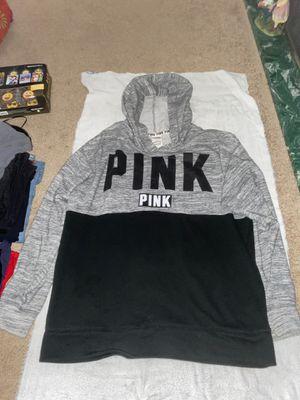 Grey & black PINK hoodie for Sale in Columbus, OH
