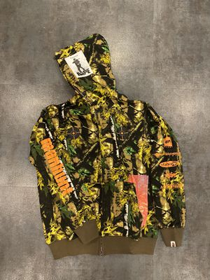 Sniper green bape hoodie XL L M for Sale in Los Angeles, CA