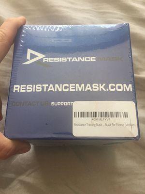 Resistance/Altitude Training Mask for Sale in Arlington, VA