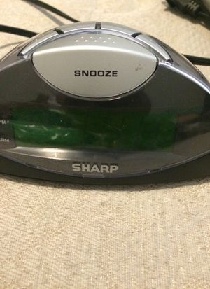 Sharp Clock with Alarm for Sale in Moreno Valley, CA
