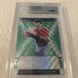 1/1 Metal Proof Beckett Baseball Trading Card for Sale in Palm Desert, CA
