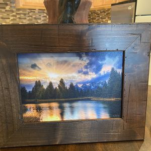 Wooden scenery picture for Sale in Lakeside, AZ