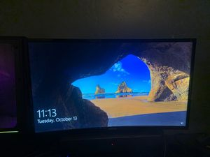 Samsung 75hz curved monitor 27inch for Sale in Pumpkin Center, CA