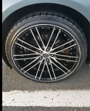 20 Inch Marquee Rims And Tires 5x114.3 Offset for Sale in Jackson Township, NJ