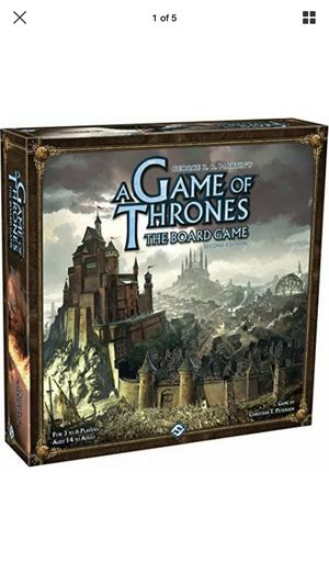 A Game of Thrones the Board Game (2011) COMPLETE Box is little wear only for Sale in Manteca, CA